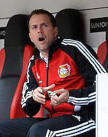 FUSSBALL   1. BUNDESLIGA  SAISON 2012/2013   4. Spieltag Bayer 04 Leverkusen - Borussia Moenchengladbach      23.09.2012 Trainer Trainer Sascha Lewandowski (Bayer 04 Leverkusen)