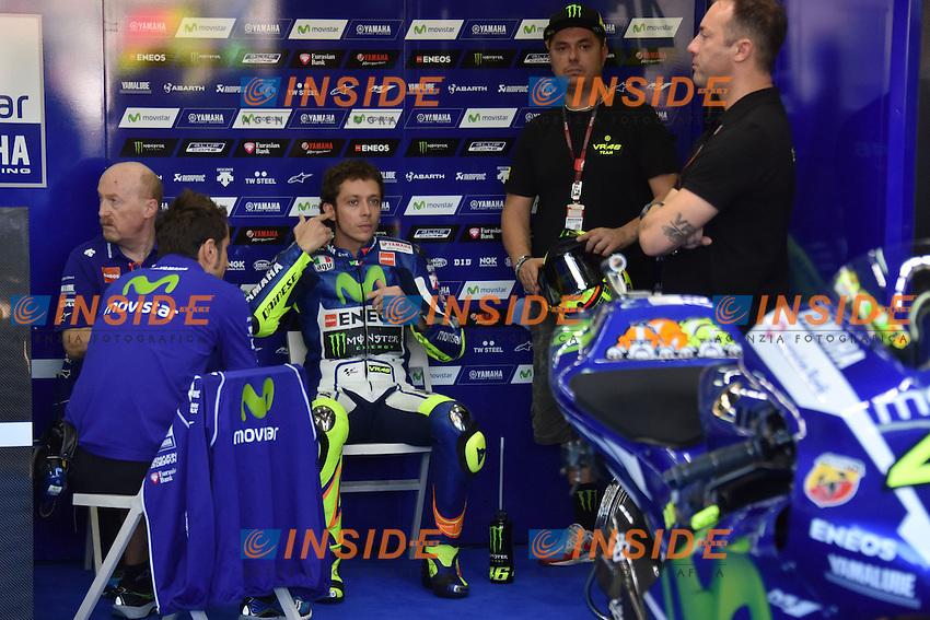 Valencia (Spagna) 06-11-2015 - prove libere Moto GP / foto Luca Gambuti/Image Sport/Insidefoto<br /> nella foto: Valentino Rossi