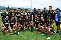 Wellington men. 2018 Central Regional Sevens at Playford Park in Levin, New Zealand on Saturday, 1 December 2018. Photo: Dave Lintott / lintottphoto.co.nz