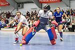 Lisa Schneider of Mannheimer HC beim Spiel der Hockey Bundesliga Damen, TSV Mannheim (hell) - Mannheimer HC (dunkel).<br /> <br /> Foto © PIX-Sportfotos *** Foto ist honorarpflichtig! *** Auf Anfrage in hoeherer Qualitaet/Aufloesung. Belegexemplar erbeten. Veroeffentlichung ausschliesslich fuer journalistisch-publizistische Zwecke. For editorial use only.