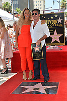 LOS ANGELES, CA. August 22, 2018: Simon Cowell & Leona Lewis at the Hollywood Walk of Fame Star Ceremony honoring Simon Cowell.