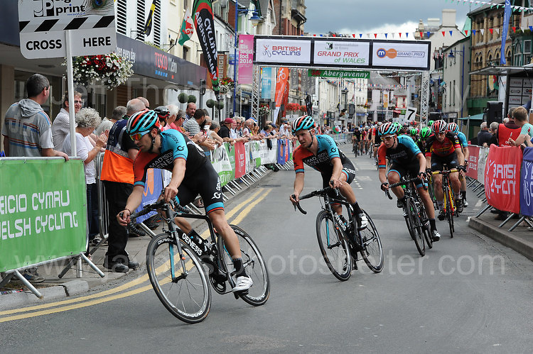 "Competitors during the Abergavenny Festival of Cycling ""Grand Prix of Wales"" race on Sunday 17th 2016<br /> <br /> <br /> Jeff Thomas Photography -  www.jaypics.photoshelter.com - <br /> e-mail swansea1001@hotmail.co.uk -<br /> Mob: 07837 386244 -"