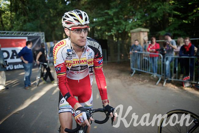 Klaas Vantornout (BEL/Sunweb-Napoleon Games) at the start<br /> <br /> GP Neerpelt 2014