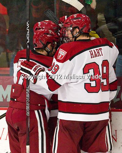 Brian Hart (Harvard - 39) - The Harvard University Crimson defeated the visiting Rensselaer Polytechnic Institute Engineers 4-0 (EN) on Saturday, November 10, 2012, at Bright Hockey Center in Boston, Massachusetts.