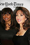 Debbi Morgan & Susan Lucci - All My Children at 40 celebrate on January 10, 2010 at the New York Times Arts & Leisure Weekend at the TimesCenter Stage, New York City, New York. (Photo by Sue Coflin/Max Photos)