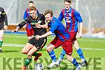 Action from the Sneem Santos v Kilmoyley Athletic, Denny Div 2 League final on Sunday.