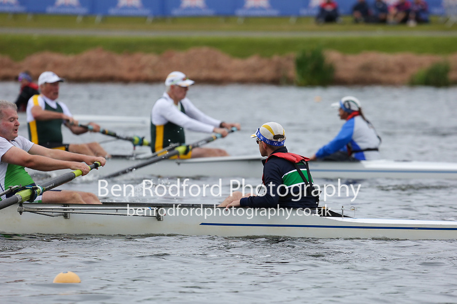 Race: 373  Event: E 8+  Heat 2<br /> <br /> British Rowing Masters Championships 2018<br /> Sunday<br /> <br /> To purchase this photo, or to see pricing information for Prints and Downloads, click the blue 'Add to Cart' button at the top-right of the page.