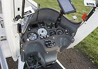 Cockpit eines Segelflugzeugs ASH 31 MI: EUROPA, DEUTSCHLAND, HAMBURG (EUROPE, GERMANY), 09.01.2016:Cockpit eines Segelflugzeugs ASH 31 MI