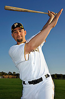 Feb 28, 2010; Bradenton, FL, USA; Pittsburgh Pirates  pitcher D.J. Carrasco (77) during  photoday at Pirate City. Mandatory Credit: Tomasso De Rosa/ Four Seam Images