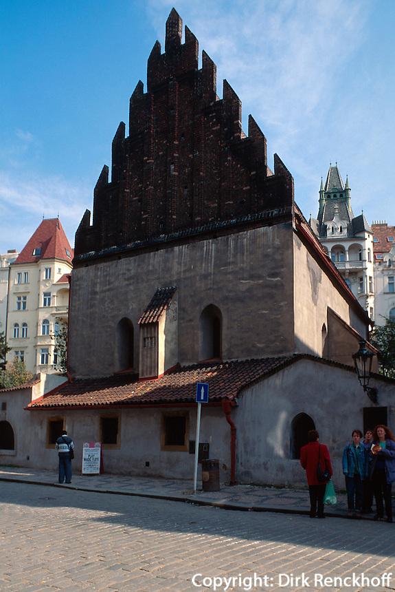 Altneusynagoge, Prag, Tschechien, Unesco-Weltkulturerbe