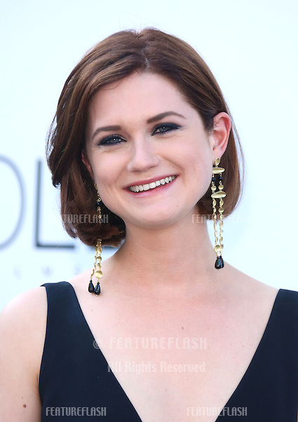 Bonnie Wright at the 66th Cannes Film Festival - amfAR's 20th Annual Cinema Against AIDS - Arrivals, Cannes, France. 23/05/2013 Picture by: Henry Harris / Featureflash