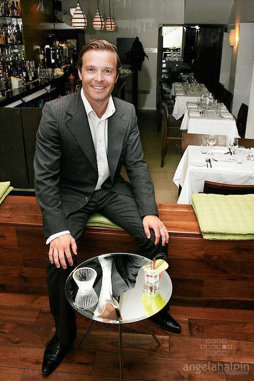 Simon Stokes,  Bang Cafe, Dublin
