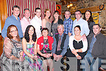 60th Birthday Party: Mary Barrett, Athea, (third from left front) celebrating her 60th birthday with family at The Horseshoe Bar & Restaurant, Listowel on Friday night last. Front : Gemma Barrett, Karina Buckley, Mary Barrett, Denis Barrett, Julie Finnucane, Denis Barrett. Back: John Barrett, Mike Buckley, Ray Barrett,Ceadlyn Murphy, Mary Anne Leahy, Eddie Barrett, Ger Finnucane & Julie Anne Sheahan.