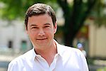 French Economist and writer Thomas Piketty attends the Festival of Economics in Trento, on May 30, 2015.