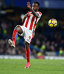 Saido Berahino of Stoke City during the premier league match at Stamford Bridge Stadium, London. Picture date 30th December 2017. Picture credit should read: Robin Parker/Sportimage