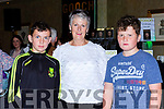 Ryan and Breda Neeson with Robbie Hartnett at the launch of Gooch The Autobiography in the Gleneagle Hotel on Thursday evening