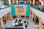 Garden City, New York, USA. 15th August 2013. BACK AT IT is the Back to School event at Roosevelt Field shopping mall, one of the 10 biggest shopping malls in the United States of America.