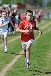 Johnatan Cummins from Ardee AC who won the boys under 12 one hundred meter event at the Louth Community Games Athletics Finals held at meadowview. Photo: Colin Bell/pressphotos.ie
