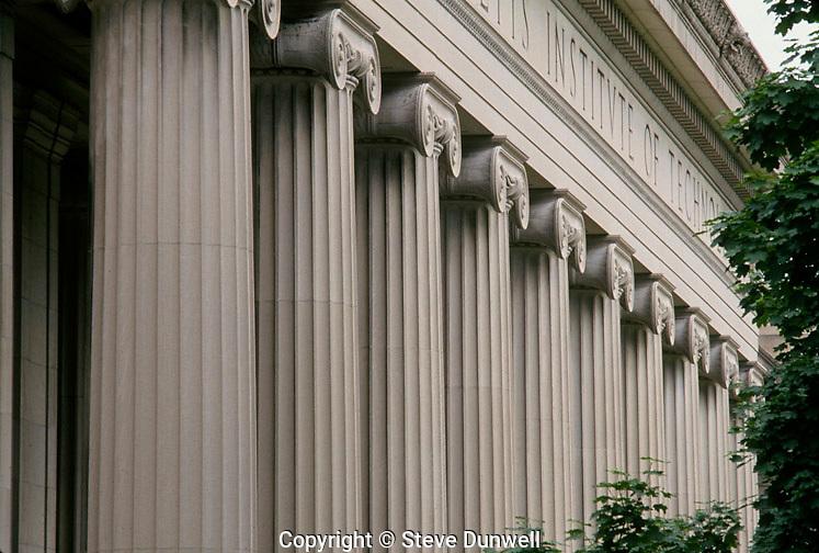 MIT columns, Cambridge, MA