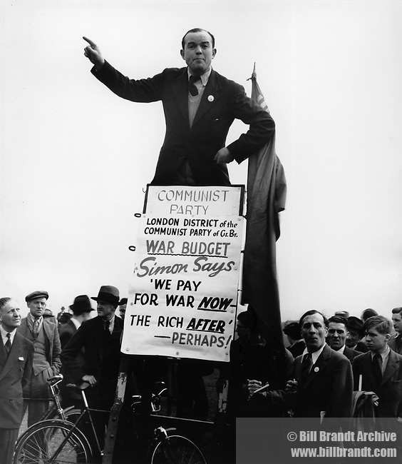 Communist at Speaker's Corner, 1940