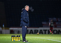 Coventry City manager Mark Venus during the The Checkatrade Trophy Southern Group D match between Wycombe Wanderers and Coventry City at Adams Park, High Wycombe, England on 9 November 2016. Photo by Andy Rowland.