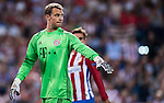 Goalkeeper Manuel Neuer of FC Bayern Munich looks on during their 2016-17 UEFA Champions League match between Atletico Madrid vs FC Bayern Munich at the Vicente Calderon Stadium on 28 September 2016 in Madrid, Spain. Photo by Diego Gonzalez Souto / Power Sport Images