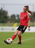 20200627 - TUBIZE , Belgium : Sari Kees i pictured during a training session of the Belgian Red Flames U19, on the 27 th of June 2020 in Tubize.  PHOTO SEVIL OKTEM| SPORTPIX.BE