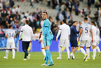 Goalkeeper Jack Butland (Stoke City) of England after during the International Friendly match between France and England at Stade de France, Paris, France on 13 June 2017. Photo by David Horn/PRiME Media Images.