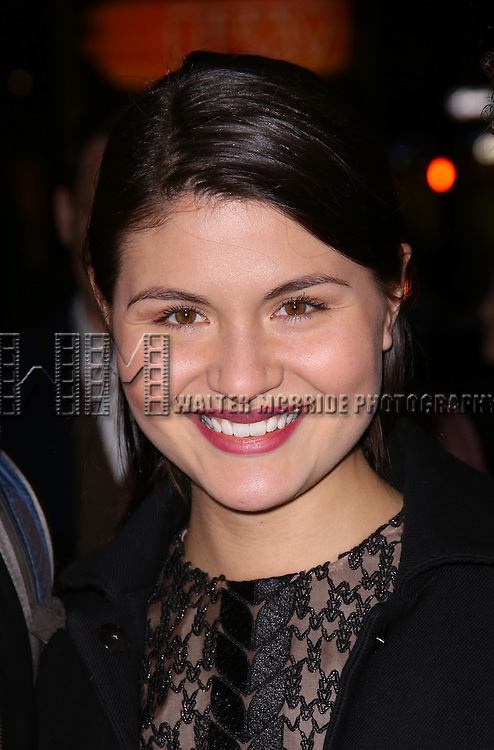 Phillipa Soo attends 'The Robber Bridegroom' Off-Broadway Opening Night performance at Laura Pels Theatre on March 13, 2016 in New York City.