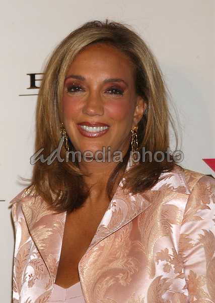 Feb. 8, 2004; Hollywood, CA, USA; Socialite DENISE RICH during the BMG 46th Annual Grammy Awards Post-Grammy Gala Celebration held at The Avalon. Mandatory Credit: Photo by Laura Farr/AdMedia. (©) Copyright 2003 by Laura Farr