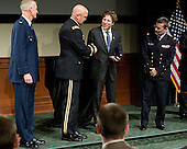Colonel David Almand, Major General Karl Horst, Christo Morse, ? - The 2012 Hobey Baker Award ceremony was held at MacDill Air Force Base on Friday, April 6, 2012, in Tampa, Florida.