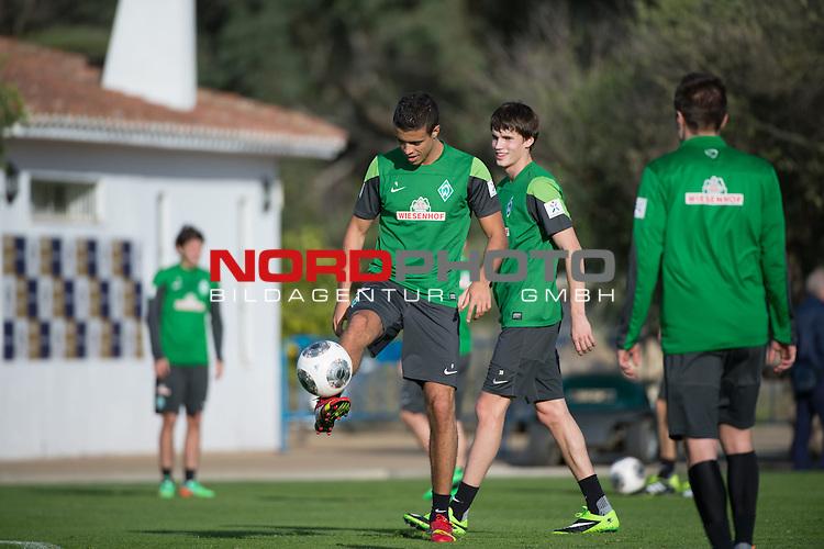 Trainingsgel&auml;nde, Jerez, ESP, 1.FBL, Trainingslager Werder Bremen 2014,  08.01.2014, <br /> <br /> Franco Di Santo (Bremen #9)<br /> <br /> <br /> Foto &copy; nordphoto/ Kokenge