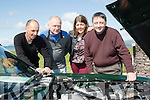 Engine power<br /> -------------------<br /> Enjoying the KVV&amp;CCC annual Ring of Kerry last weekend were L-R Donal Doyle, Liam Sheehan, Aine Doyle and Jim Moloney.