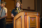 June 23, 2015 - LAS VEGAS -- Texas Stations,:<br />     The Project 150 Youth Council hosted their second annual scholarship awards luncheon at which $30,000 in scholarships is awarded to twenty one college students. Project 150 Teen Spokesperson NASCAR Racer Kayli Barker, Author, Comedian, and Guitarist Mike Rayburn and representatives from the National Latino Peace Officers Association.<br />    Scholarship sponsors include HomeAid Southern Nevada, Latino Peace Officers Association (NLPOA), and matching scholarships from College of Southern Nevada and Nevada State College