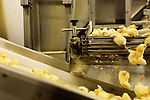 July 24, 2015. Candor, North Carolina.<br />  After a separator machine cleans leftover egg shell from the baby chicks, they are prepared for transport to the farms where they will mature. <br />   Chicken producer Perdue Farms Inc. has become the first major poultry company to attempt to raise more than half of its flock with no antibiotics, human or for animals only. As demand for meats free of medicines has risen, Perdue has upgraded their facilities to increase cleanliness and sterility to allow the company to cut antibiotics out of the chicken hatching process.