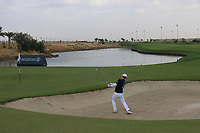 Jazz Janewattananond (THA) on the 13th during Round 2 of the Saudi International at the Royal Greens Golf and Country Club, King Abdullah Economic City, Saudi Arabia. 31/01/2020<br /> Picture: Golffile | Thos Caffrey<br /> <br /> <br /> All photo usage must carry mandatory copyright credit (© Golffile | Thos Caffrey)