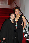 Tamara Tunie - As The World Turns poses with her mom - The 11th Annual Skating with the Stars Gala - a benefit gala for Figure Skating in Harlem  on April 11, 2016 on Park Avenue in New York City, New York with many Olympic Skaters and Celebrities. (Photo by Sue Coflin/Max Photos)