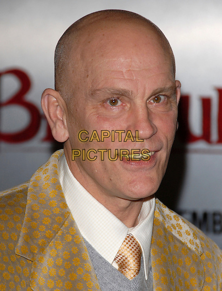 """JOHN MALKOVICH.Attends the """"Beowulf"""" Film Premiere held at Mann's Village in Westwood, California, USA, November 05 2007.                                                                     portrait headshot .CAP/DVS.©Debbie VanStory/Capital Pictures"""