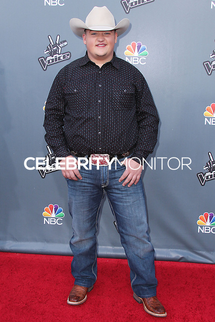 "UNIVERSAL CITY, CA, USA - APRIL 15: Jake Worthington at NBC's ""The Voice"" Season 6 Top 12 Red Carpet Event held at Universal CityWalk on April 15, 2014 in Universal City, California, United States. (Photo by Xavier Collin/Celebrity Monitor)"