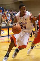 SAN ANTONIO, TX - MARCH 1, 2007: The Sam Houston State University Bearkats vs. The University of Texas at San Antonio Roadrunners Men's Basketball at the UTSA Convocation Center. (Photo by Jeff Huehn)