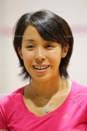 Misaki Kobayashi (JPN), AUGUST 31, 2013 - Squash : Pro squash in Japan victory ceremony at SQ-CUBE Yokohama, Kanagawa, Japan. (Photo by AFLO SPORT) [1045]