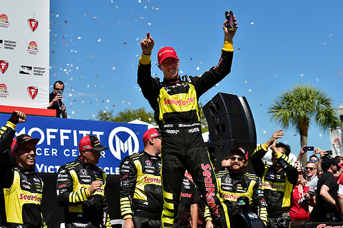 2018 Verizon IndyCar Series - Firestone Grand Prix of St. Petersburg<br /> St. Petersburg, FL USA<br /> Sunday 11 March 2018<br /> S&eacute;bastien Bourdais, Dale Coyne Racing with Vasser-Sullivan Honda<br /> World Copyright: Scott R LePage / LAT Images<br /> ref: Digital Image _SRL6482
