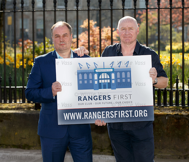 Richard Scott from Rangers First with John Brown this morning