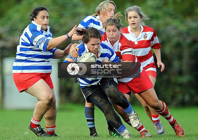 Senior Womens rugby Riwaka v WOB. Riwaka Park, Motueka, New Zealand. Saturday 25 May 2013. Photo: Chris Symes/www.shuttersport.co.nz