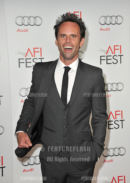 "Walton Goggins at the AFI Fest premiere of his movie ""Lincoln"" at Grauman's Chinese Theatre, Hollywood..November 8, 2012  Los Angeles, CA.Picture: Paul Smith / Featureflash"