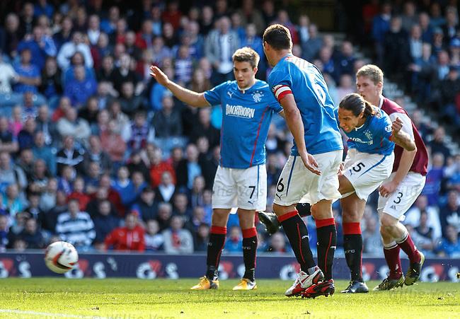 Bilel Mohsni scores for Rangers
