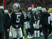 Oakland Raiders Special Team Johnny Townsend (5)