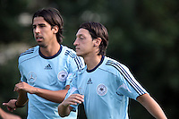 13.08.2012: Training der Nationalmannschaft in Frankfurt