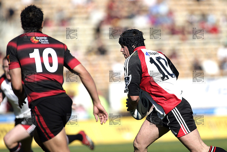 Blair Feeney during the Ranfurly Shield challenge against Canterbury at Jade Stadium on the 10th of September 2006. Canterbury won 32 - 16.