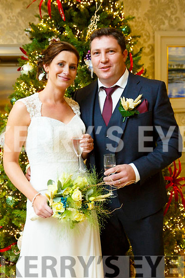 Angela Fahy and Timothy Quilter were married at St. Michael's Church Lixnaw on Saturday 18th November 2017 with a reception at the Rose Hotel